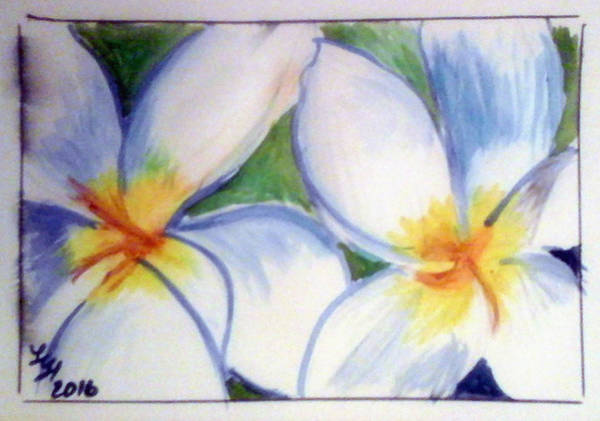 Painting - Flowers 3452 by Loretta Nash