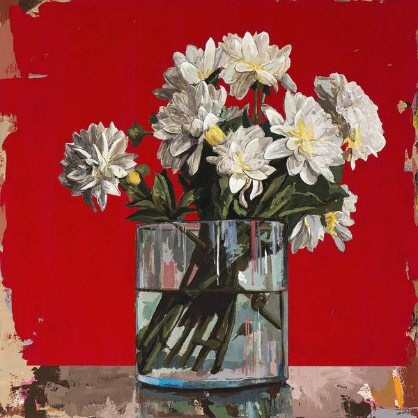 Still-life Painting - Flowers #4 by David Palmer