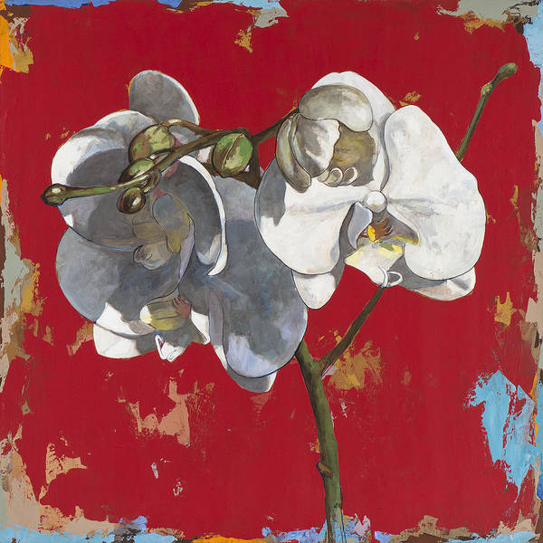 Wall Art - Painting - Flowers #6 by David Palmer