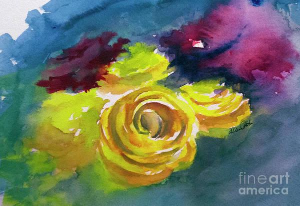 Painting - Flowers by Allison Ashton