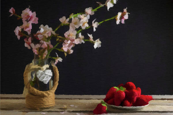Photograph - Flowers And Berries by David Dehner