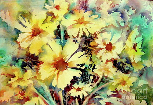 Painting - Flowers Are The Sweetest Things by Patsy Walton