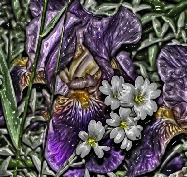 Digital Art - Flowers By Artful Oasis 4 by Artful Oasis
