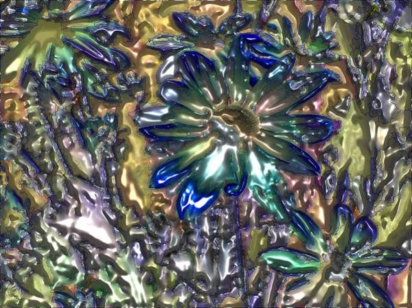 Digital Art - Flowers By Artful Oasis 5 by Artful Oasis