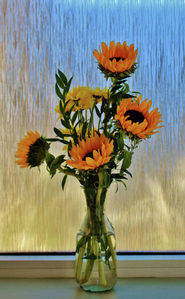 Photograph - Flowers By The Window by Cynthia Guinn