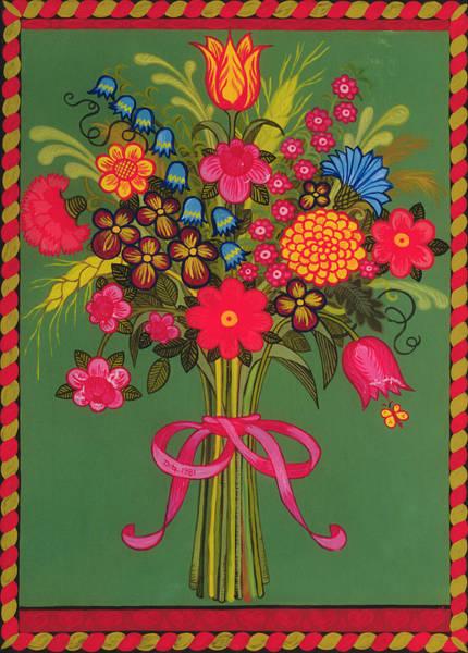 Tulip Bloom Painting - Flowers by Ditz