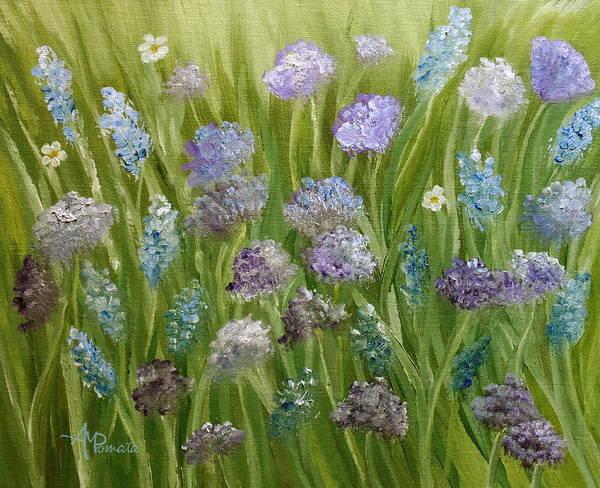 Flowers Field Art Print