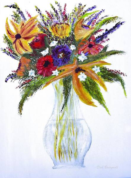 Flowers For An Occasion Art Print