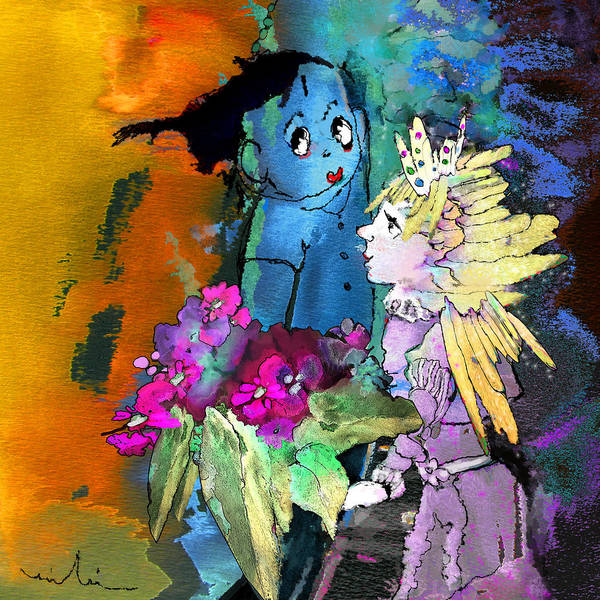 Painting - Flowers For My Princess by Miki De Goodaboom