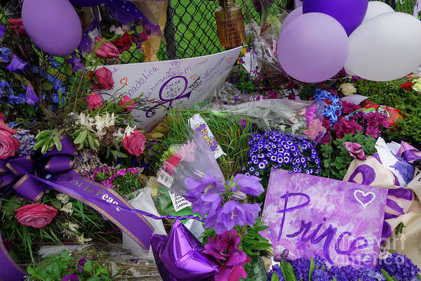 Photograph - Flowers For Prince by Jacqueline Athmann