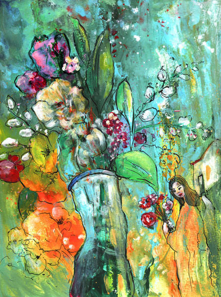 Painting - Flowers For You by Miki De Goodaboom