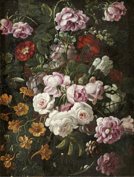 Lavagna Wall Art - Painting - Flowers by Fransesco