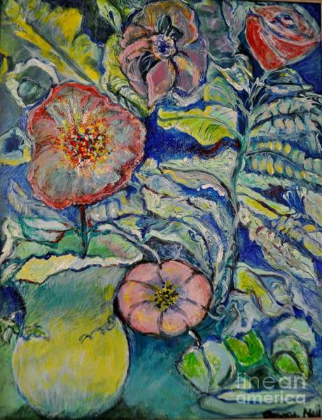 Painting - Flowers Gone Wild by Deborah Nell
