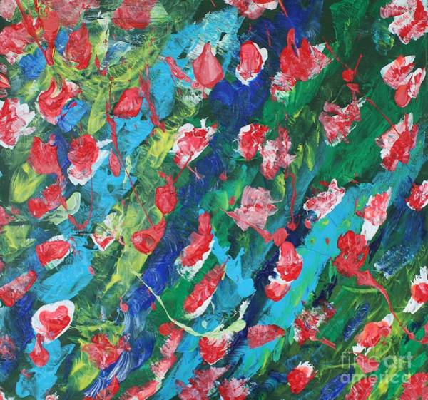 Painting - Poppies by Sarahleah Hankes