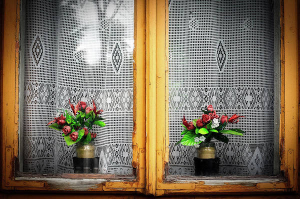 Wall Art - Photograph - Flowers In The Window by Pixabay