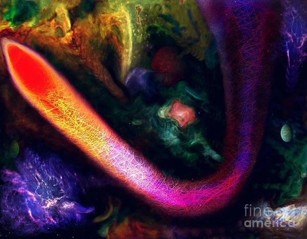 Digital Art - Flowers Of Heaven by David Neace