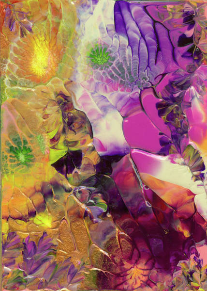 Painting - Flowers Of The Cosmic Sea by Nan Bilden