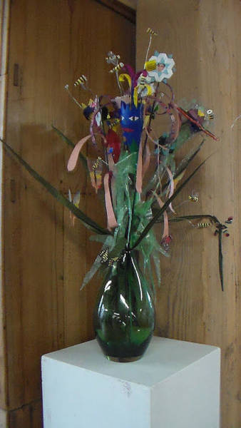 Nectar Mixed Media - Flowers Sculpture by William Douglas