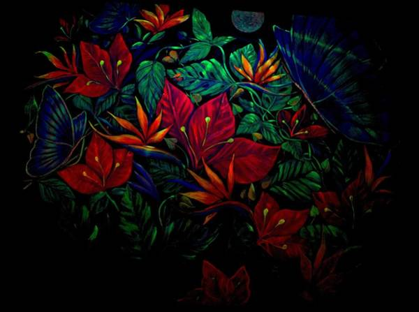 Wall Art - Painting - Flowers by Sue Beck-Ryan