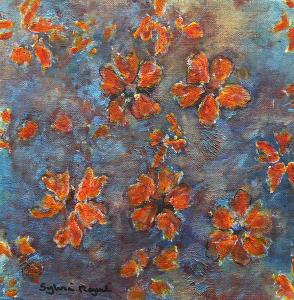 Wall Art - Painting - Flowers by Sylvia Royal