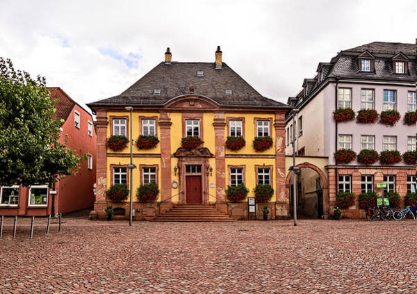 Photograph - Flowery Houses In Miltenberg, Germany  by Kay Brewer