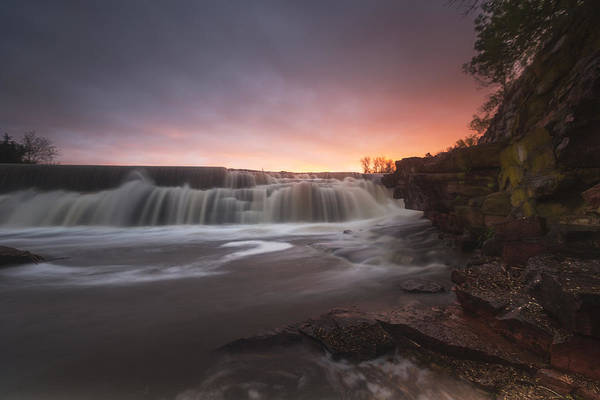 Lee Filters Wall Art - Photograph - Flowing by Aaron J Groen