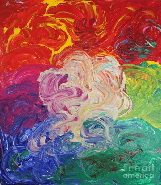 Painting - White Fire by Sarahleah Hankes