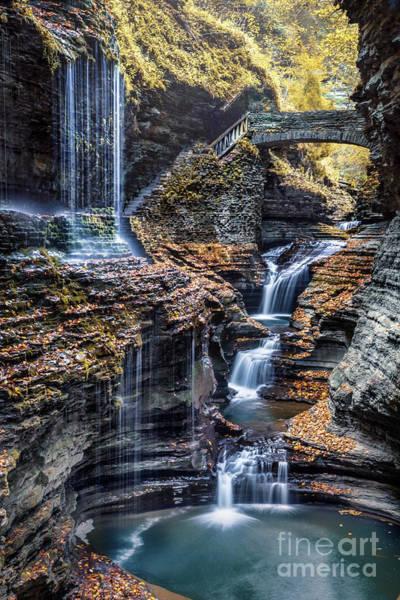 Cavern Photograph - Flowing Dream by Evelina Kremsdorf