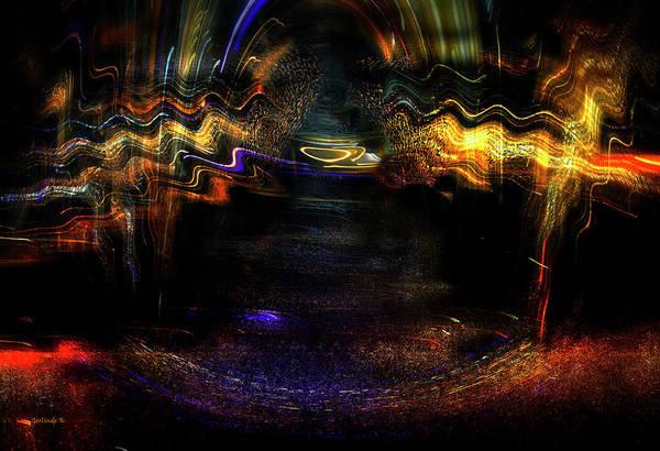 Digital Art - Flowing Energy by Gerlinde Keating - Galleria GK Keating Associates Inc