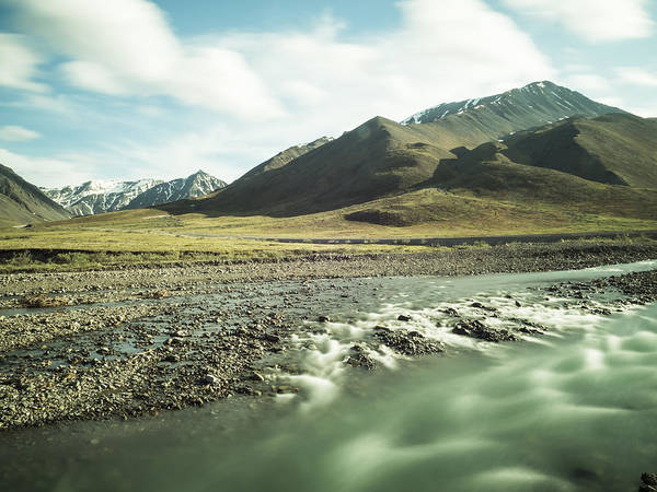 Photograph - Flowing Rivers Of Atigun Pass by Ian Johnson
