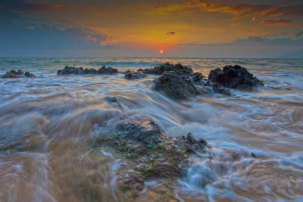 Kihei Photograph - Flowing Waters by James Roemmling
