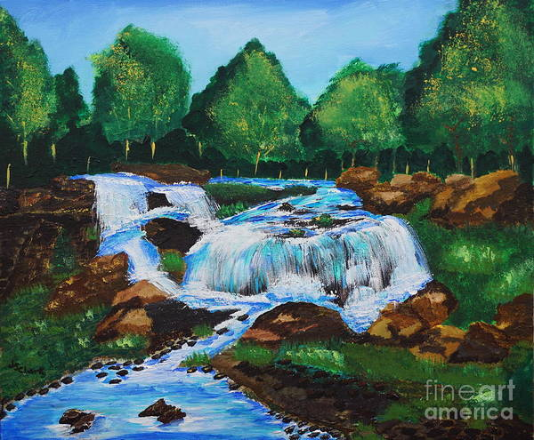 Painting - Flowing Waters by Jimmy Clark