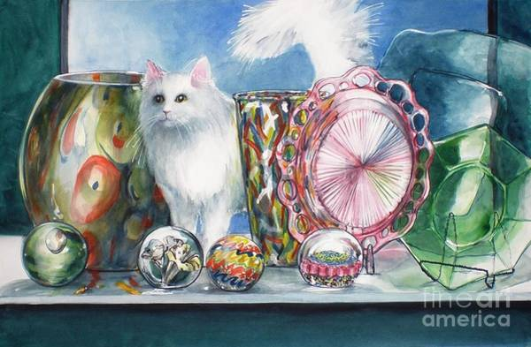 Painting - Fluff And Stuff by Jane Loveall
