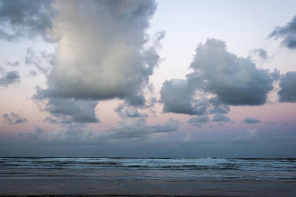Photograph - Fluffy Morning Clouds by Robert Potts