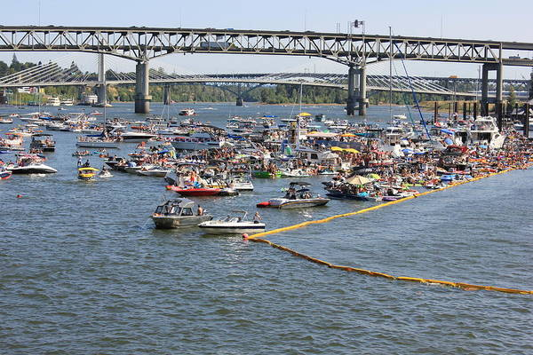 Flugtag Photograph - Flugtag Traffic by Christine Patterson