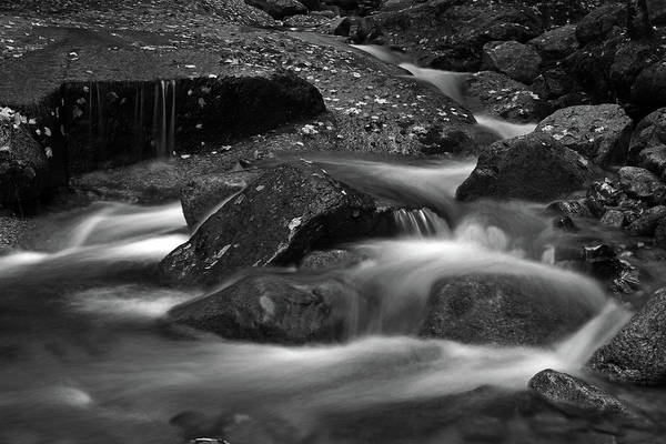 Photograph - Flume Brook At Franconia Notch State Park Nature by Juergen Roth