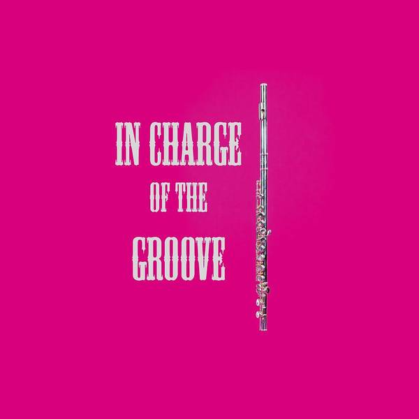 Photograph - Flute In Charge Of The Groove 5527.02 by M K Miller