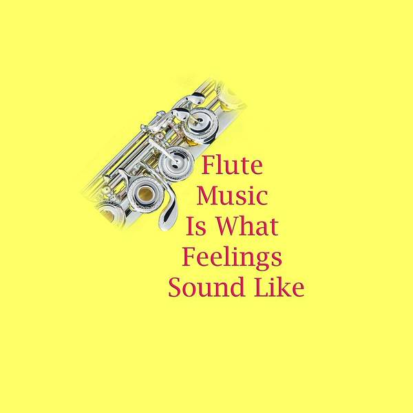 Photograph - Flute Is What Feelings Sound Like 5572.02 by M K Miller