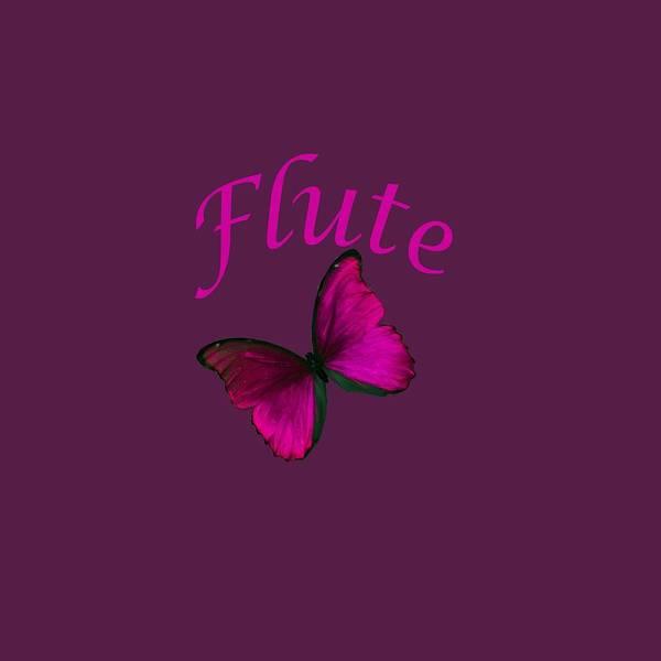 Photograph - Flute Photograph For T-shirt 5545.02 by M K Miller