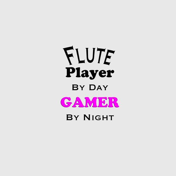Photograph - Flute Player By Day Gamer By Night 5619.02 by M K Miller