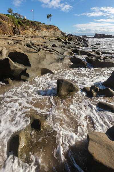 Photograph - Fluted Rocks And Tidepools by Cliff Wassmann