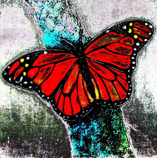 Flutterby Wall Art - Digital Art - Flutterby 1 by Pamela Iris Harden