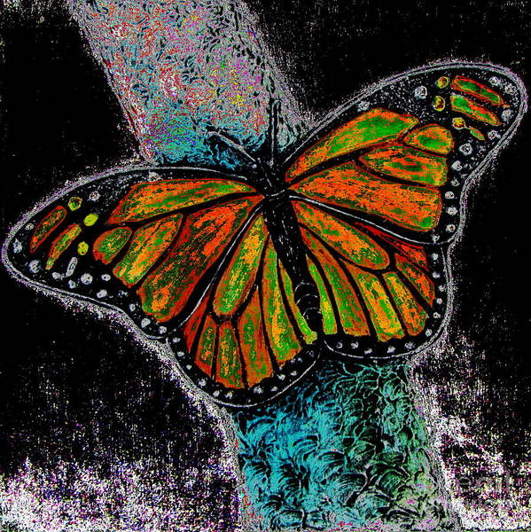 Flutterby Wall Art - Digital Art - Flutterby 2 by Pamela Iris Harden