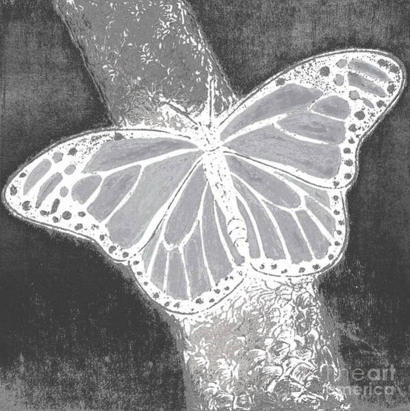 Flutterby Wall Art - Digital Art - Flutterby 5 by Pamela Iris Harden