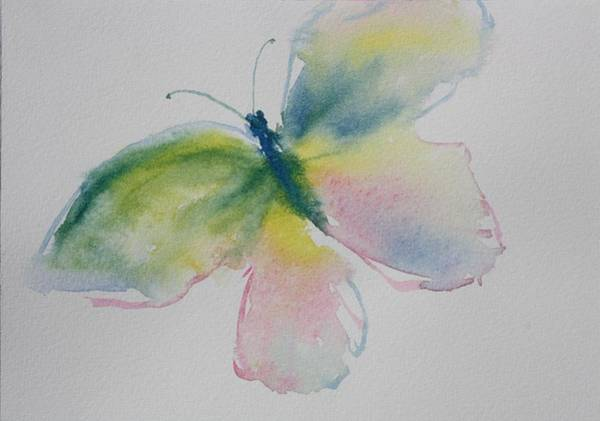 Painting - Flutterby by Tara Moorman