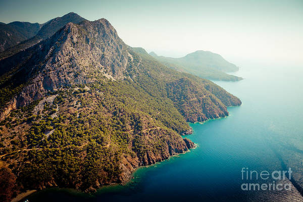 Photograph - Fly Above Laguna Seascape Artmif.lv by Raimond Klavins
