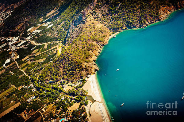 Photograph - Fly Above Laguna Seascape by Raimond Klavins