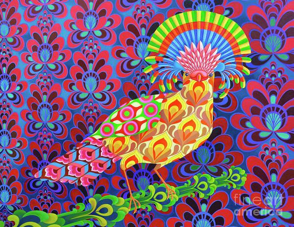 Vertebrate Painting - Fly Catcher by Jane Tattersfield