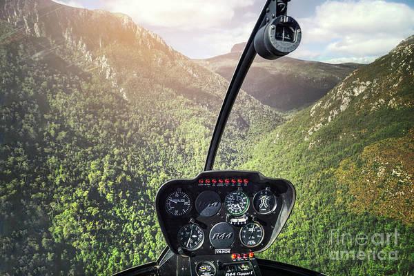 Chopper Photograph - Fly Me High by Evelina Kremsdorf
