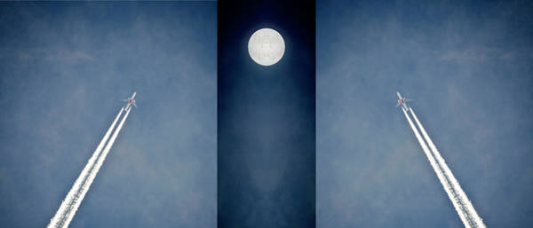 Wall Art - Photograph - Fly Me To The Moon by Leopold Brix
